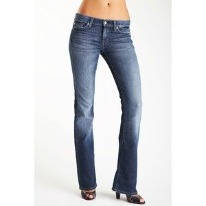 💕7 For All Mankind💕 Bootcut Jeans Pocket Design